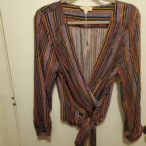 Sandy and Sid Blouse Multi Color